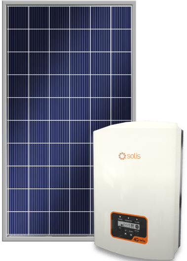 Solis Inverter with Solar Panel